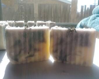 Lavender Vanilla Cold Process Soap Sahmpoo Bar Soap