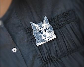 Kitty Cat Pin Brooch