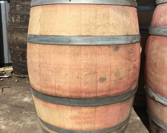 10 Retired Napa Valley Wine Barrel Used Oak 59 Gallons Free Shipping!