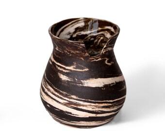 Marbled Ceramic Vase