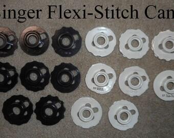 Vintage Singer Flexi-Stitch Cams (for models 690, 700, 720, 740, 750, & 758)