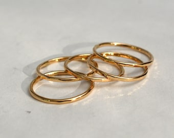 14kt Yellow Gold Toe Rings