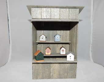 1:12th Scale Wood Weathered Shack