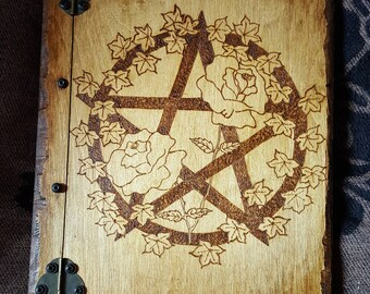 Book of Shadows. FREE UK POSTAGE. Journal Grimoire. Gift from him or her