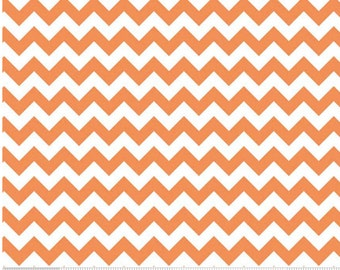 Small Chevron Orange  by Riley Blake Designs Fat Quarter Cut