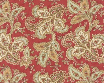 Quilting Cotton fabric | 3 Sisters Larkspur | Rose Paisley 44101 16