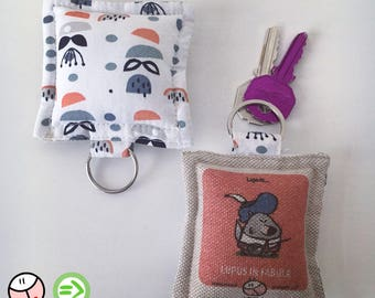 Lupus keyring in FABULA, the Roofs ®