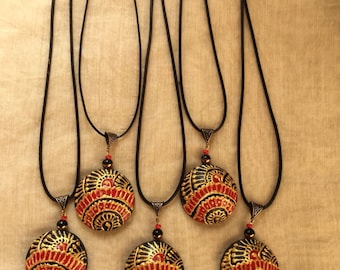 Quilled Paper Pendants