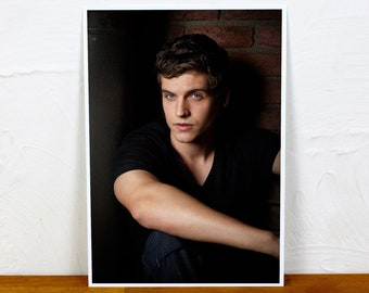 Daniel Sharman Poster Print - Colour and BW - 2 sizes - A4 and A3