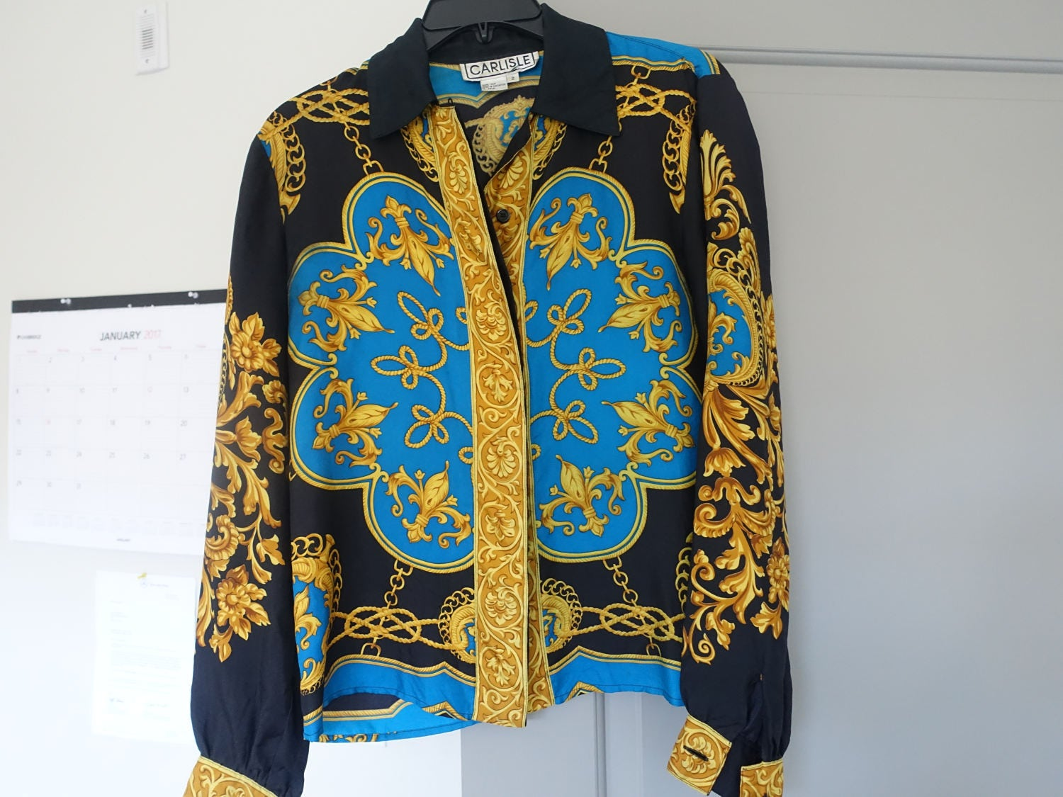 Mens Versace Silk Shirts For Sale