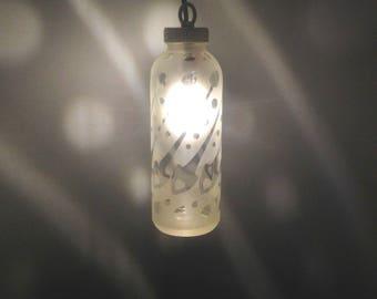 Barberstripe Spoon Bottle Lantern