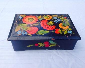 Handpainted box