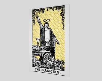 """20""""x30"""" - Modern Tarot Design - 1 The Magician"""