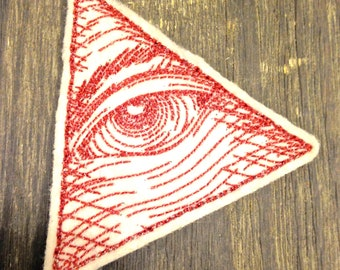 Eye of Providence Embroidered Patch