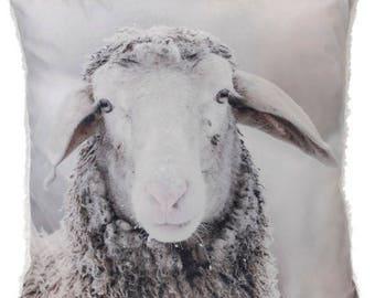 Sheep pillow 45x45 cm