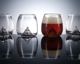 Aromatic Beer Glass, Craft Beer, Glassware, Set of 4