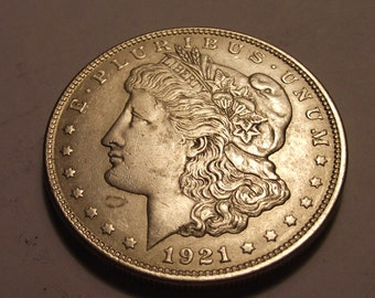 1921 United States of America 1 Morgan Silver Dollar #4415
