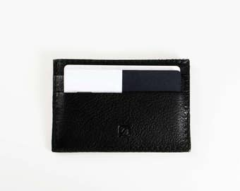 SLIM wallet leather card holder slim business credit card case