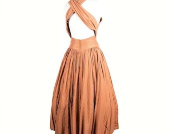 Vintage 1950s Day Dress