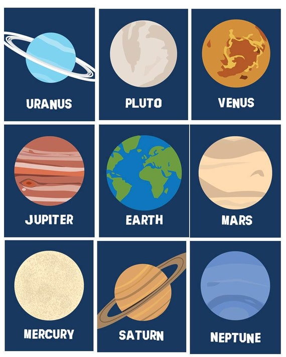 Ridiculous image within planets printable
