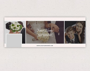 Facebook Timeline Cover - Template for Photographers F02