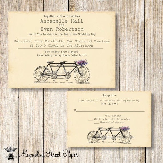 Tandem bicycle favor tags printable bicycle favor tags wedding tandem bicycle favor tags printable bicycle favor tags wedding favor tags bridal shower favor tags gift favor tags rustic favor tags filmwisefo