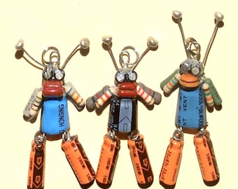 Robot Bug Trio