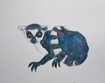 Galaxy lemur