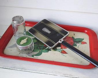 Vintage Mirror  Handheld  Vanity Shaving Makeup Mirror