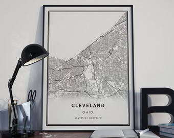 Cleveland Decor | Etsy