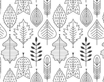Organic Crib sheets & Mini crib sheets including Babybjorn Lotus 4Moms Arms Reach Bloom baby etc Onyx black white leaves fall trees woods