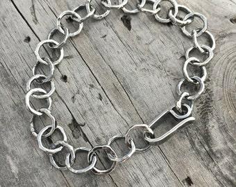 Sterling Silver Bracelet Handmade Wild Prairie Silver Jewelry