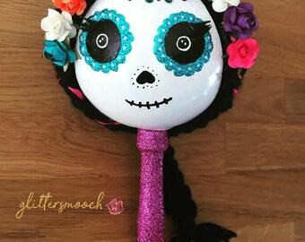 DAY OF DEAD Maraca, Catrina, Dia de Muertos, Halloween, Party Favor