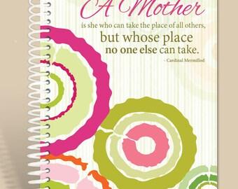 Personalized Gift / Prayer Journal / Personalized Notebook / Citrus Swirls/