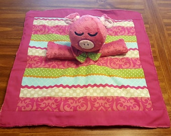 Lullaby Blanket - Animal Security Blanket -  Fleece