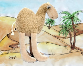 Cuddly Camel Soft Plush Toy, Stuffed Animal, Cuddly Soft Toy, Plush Baby Toy