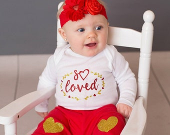 Baby girl valentine shirt, baby girl Valentines Day, first valentines day baby girl, girls valentine shirt, girls valentines day shirt