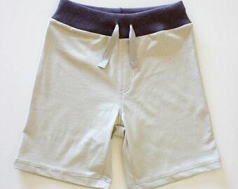 Organic cotton boy shorts