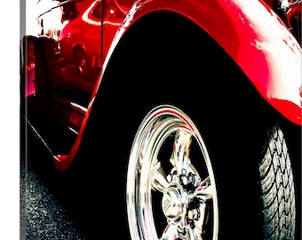 Hot Rod Canvas or Print