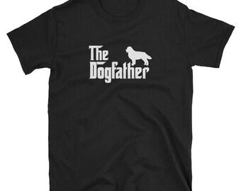 Bernese Mountain Dog Shirt Gift Dogfather Tee