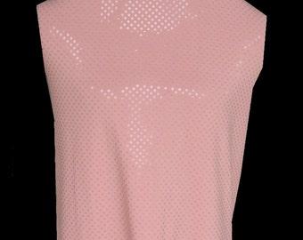 Soft Peach Lycra Spandex Fabric