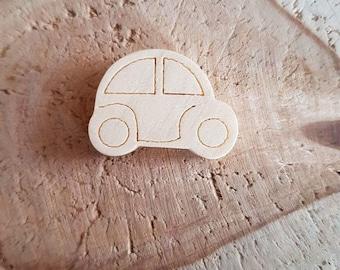 Pearl car natural wood