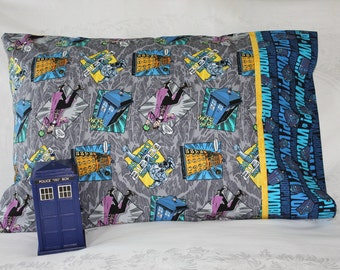 Doctor Who pillowcase
