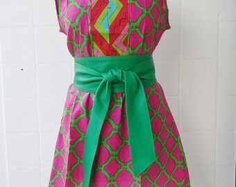 Handmade apple green Real Leather obi sash tie belts cinch double wrap wide belts corset