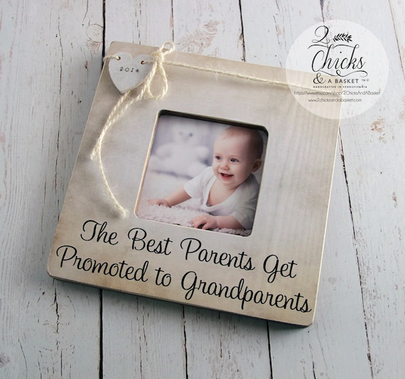 Mom Dad Gift, The Best Parents Get Promoted To Grandparents ...
