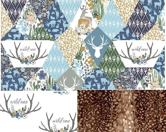 Woodland Nursery Bedding Set | Baby Blanket | Crib Sheet | Changing Pad Cover | Pillow
