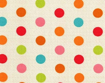 Michael Miller Textured Basics by Patty Young Cool Dots in Multi by the Yard