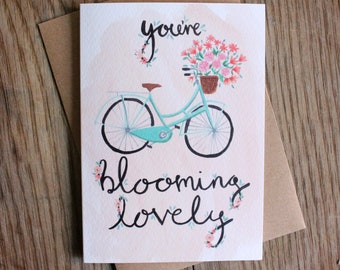 You're Blooming Lovely Mother's Day Card