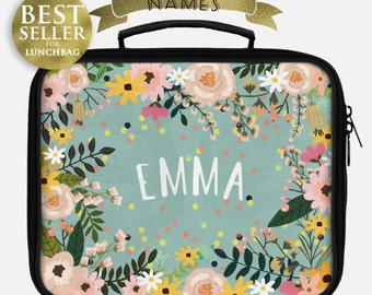 Lunch box - Monogrammed gifts - Custom for  ruby - shipping