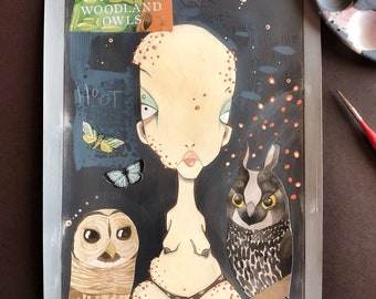 The Queen Of Woodland Owls